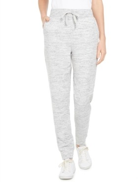 Style&Co. Style & Co Speckle Jogger Pants, Created for Macy's
