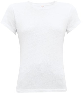 RE/DONE X Hanes Boxy Cotton T-shirt - White