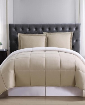 Truly Soft Everyday Reversible King 3-Pc. Comforter Set Bedding