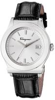 Salvatore Ferragamo 1898 Stainless Steel & Leather Watch, 40mm