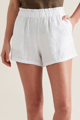 Seed Heritage Linen Relaxed Short