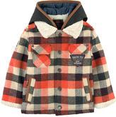 Catimini Checked wool jacket