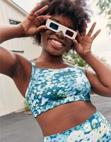 Thumbnail for your product : aerie OFFLINE Printed Square Neck Sports Bra
