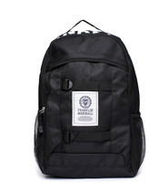 Franklin & Marshall Black Classic Backpack