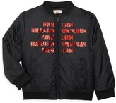 True Religion Little Boy's Logo Graphic Bomber Jacket