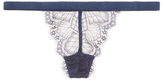 Cosabella Cheyenne Embroidered G-String