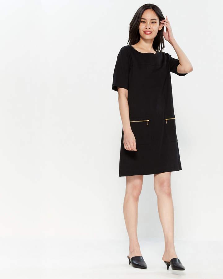 28a003c18 Joan Vass Black Dresses - ShopStyle