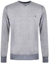Original Penguin Mouline Sweatshirt Blue