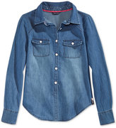 Tommy Hilfiger Shirt, Big Girls (7-16)
