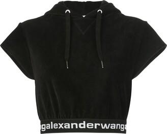 Alexander Wang Hooded Crop Top