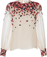 Martin Grant Embroidered Long Sleeve Shirt