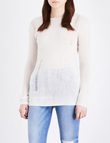 NSF Kravitz wool and cashmere-blend jumper