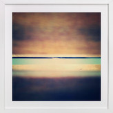 Minted Cedar Sunrise Art Print