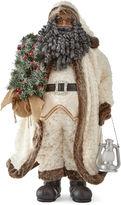 North Pole Trading Co. 36 White Fur Santa