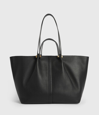 AllSaints Allington Leather East West Tote Bag