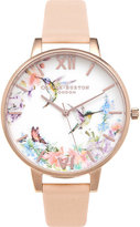 Olivia Burton OB15PP12 Hummingbird rose gold-plated watch