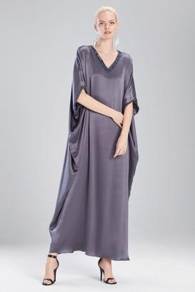 Natori Couture Trim Beaded Caftan