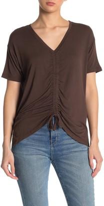 Cotton On Ashleigh Ruche Front T-Shirt