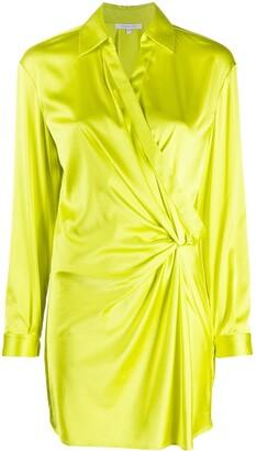 Patrizia Pepe Twist Detail Shirt Dress