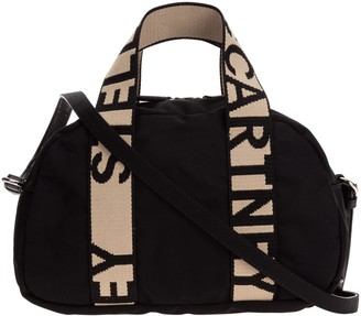 Stella McCartney Logo Strap Boston Bag