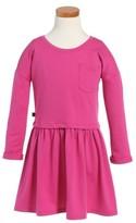 Tea Collection Toddler Girl's Solid Pocket Dress