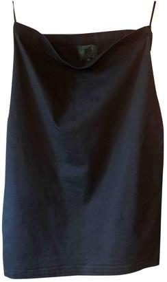 Gaultier Junior Black Cotton - elasthane Skirt for Women Vintage