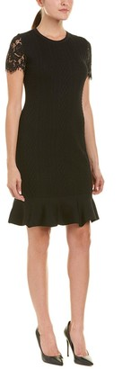 Julia Jordan Women's Sweater Dress with Lace