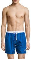 HUGO BOSS Contrast Drawstring Swim Trunks