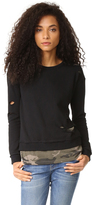 Generation Love West Camo Double Layer Sweatshirt