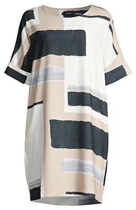 Natori Art Modernat T-Shirt Dress