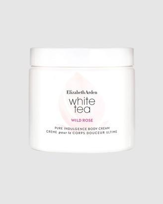 Elizabeth Arden Women's White Body Lotion & Cream - White Tea Wild Rose Body Cream 400ml - Size One Size, 400ml at The Iconic