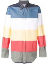 Thom Browne colourblock shirt
