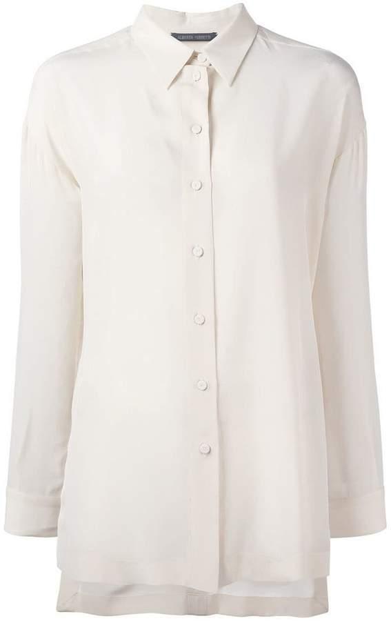 Alberta Ferretti classic shirt
