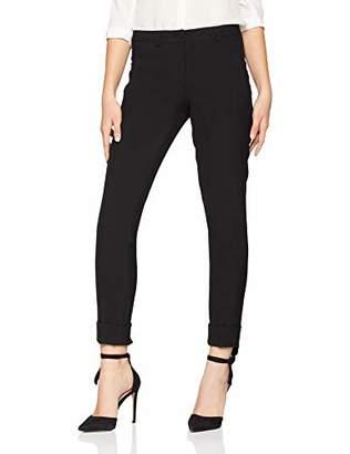 Daniel Hechter Women's Trousers, (Jet Black 990)