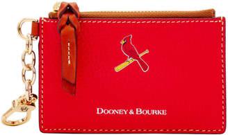 Dooney & Bourke MLB Cardinals Zip Top Card Case