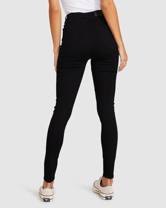 Insight Sami Super High Rise Jeans Jet Black