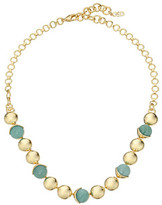 Cole Haan Metal & Stone Frontal Necklace