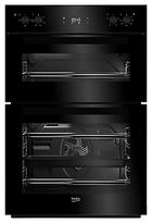 Beko BDF22300B Built-In Integrated Double Oven, Black