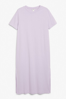 Monki Maxi t-shirt dress