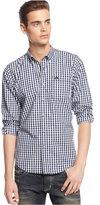 American Rag Men's Varsity Park Long-Sleeve Checked Shirt, Only at Macy's