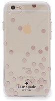 Kate Spade Rose Gold Foil Confetti iPhone 7 Case