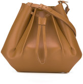 Maison Margiela structured bucket bag - women - Leather - One Size
