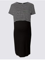 Marks and Spencer Maternity Striped Dress