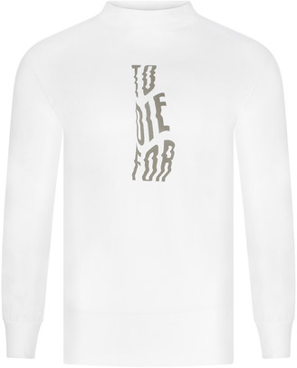 I AND ME - To Die For Long Sleeve T Shirt - M - White