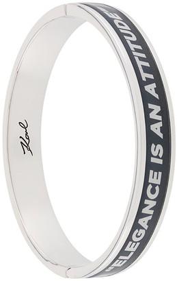 Karl Lagerfeld Paris Karlism bangle bracelet