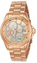 Invicta Angel Women's Quartz Watch with Rose Gold Dial Chronograph Display and Rose Gold Plated Stainless Steel Bracelet - 23569
