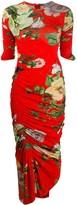 Preen by Thornton Bregazzi Patience floral maxi dress