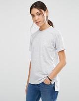Asos Linen Mix T-Shirt