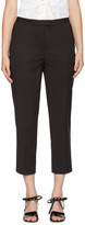 3.1 Phillip Lim Black Cropped Needle Trousers