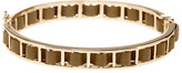 French Connection Woven Faux Leather Bangle
